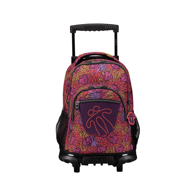 Wheeled Totto Backpack - Lines -...