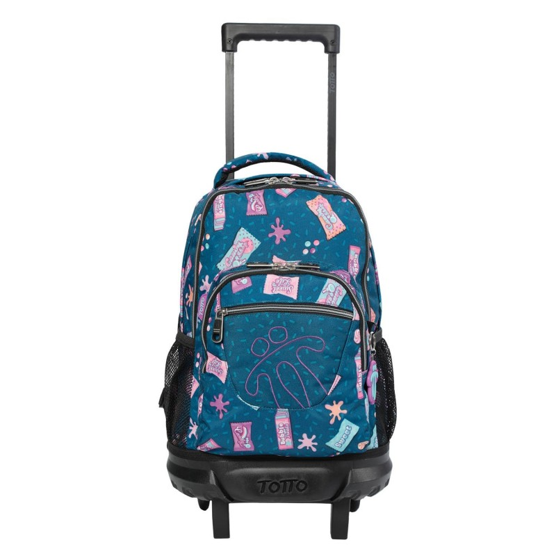 School backpack with gomy print...