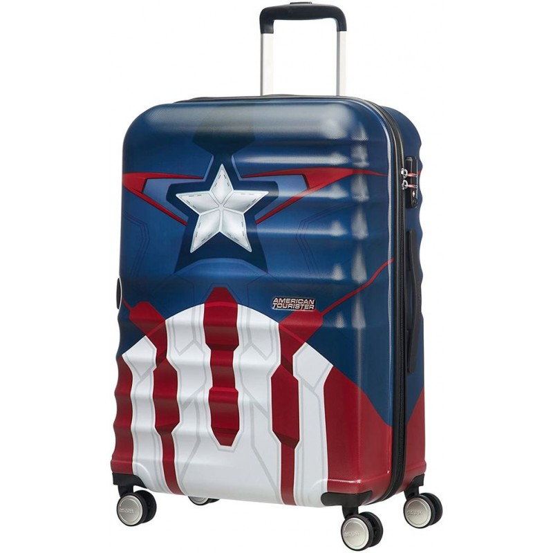 Midsize Captain America suitcase from...
